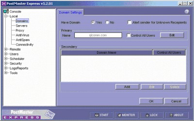 PostMaster Express 5.2 screenshot