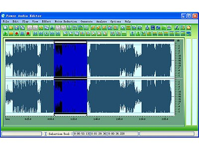 Power Audio Editor 7.4.3.240 screenshot