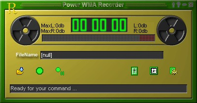 Power WMA Recorder 6.0 screenshot