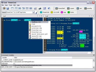 PowerCmd 1.1 screenshot