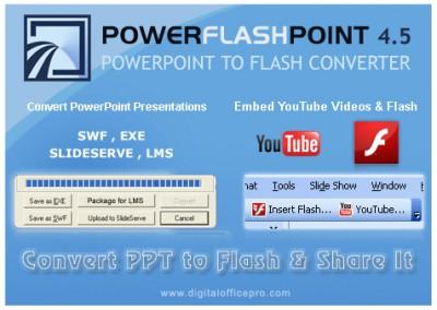 PowerFlashPoint - PowerPoint to Flash 6.0 screenshot