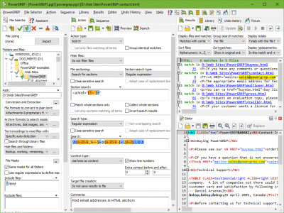 PowerGREP 4.5.0 screenshot