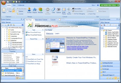 PowerShell Plus 4.7.5014.0 screenshot