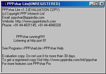 PPPshar Lite 1.3 screenshot