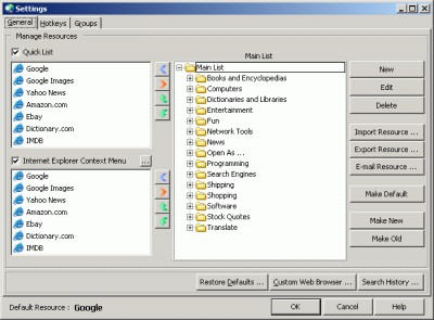 PractiSearch Pro 1.44 screenshot