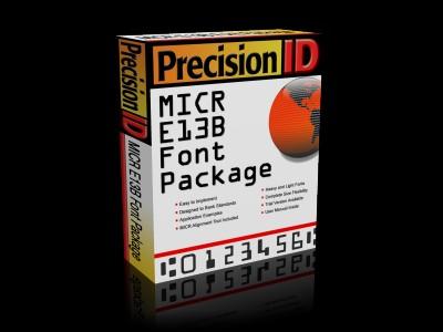 PrecisionID MICR Fonts 2012 screenshot