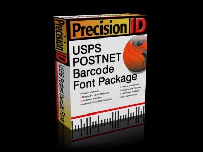 PrecisionID USPS Postnet Barcode Fonts 2012 screenshot
