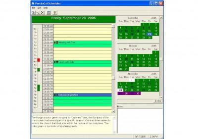 PresbyCal Desktop Calendar 1.1.8 screenshot