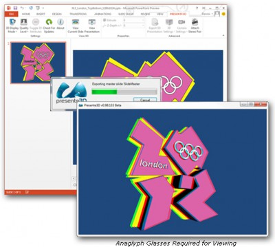 Presente3D 1.1 screenshot
