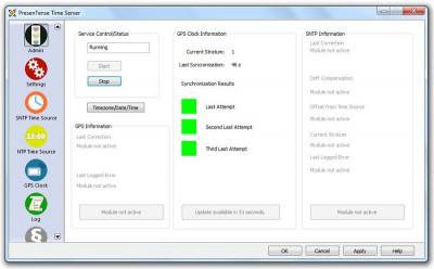 PresenTense Time Server 5.0 screenshot