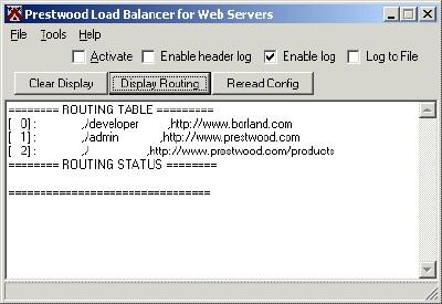 Prestwood Load Balancer 1.02 screenshot