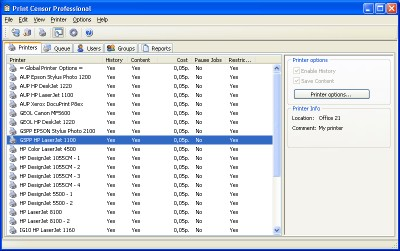 Print Censor Professional 5.41.195 screenshot