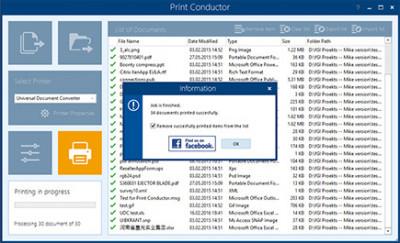 Print Conductor 5.2 screenshot