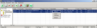 Print Management - Print Release Station 4.0.0.28 screenshot