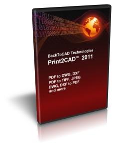 Print2CAD 2011 screenshot