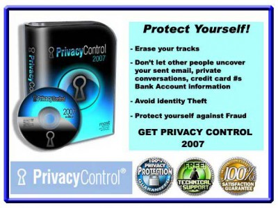 PRIVACY CONTROL 2011.00216 screenshot