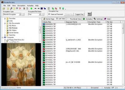 Private Pix 4.1 screenshot