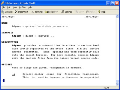 Private Shell SSH Client 3.3 screenshot