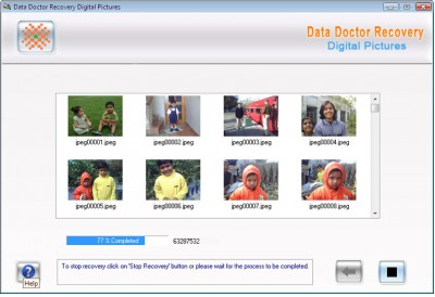 Professional Digital Photo Recovery 3.0.1.5 screenshot