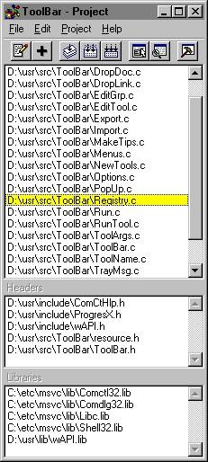 Programmer's IDE 2000 3.2 screenshot