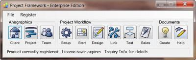 Project Framework 1.5.5 screenshot
