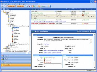 Project Track 2007 - Collaborative (muti-user) Edi 2007.2 screenshot
