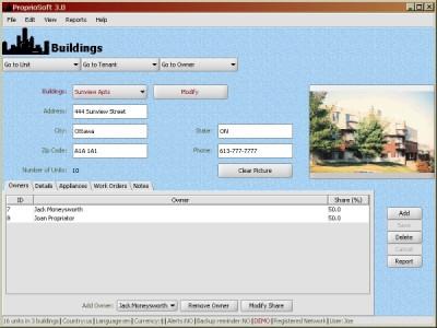 ProprioSoft 3.0 screenshot