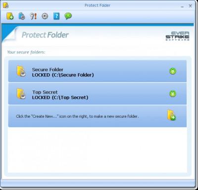 Protect Folder 3.5 screenshot
