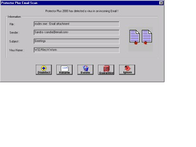 Protector Plus for Windows XP/2000 7.2.H03 screenshot