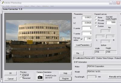Proxel Lens Corrector Mac 1.2.2 screenshot