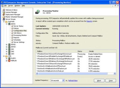PSTCompactor - Professional Edition 2.5.4 screenshot