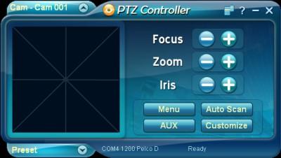 PTZ Controller 3.7.1069 screenshot