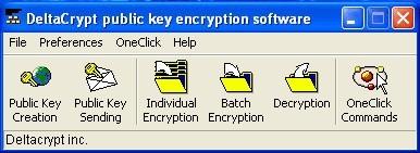 Public Key File and Email Encryption freeware 3.2.1 screenshot