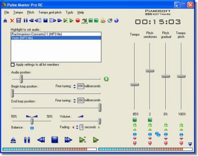 Pulse Master 6.7 screenshot