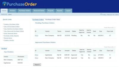 Purchase Order Program v4 4.0.0 screenshot