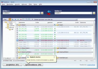 PureSync 3.8.1 screenshot