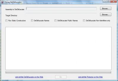 PvLog DeObfuscator Win32 1.3 screenshot