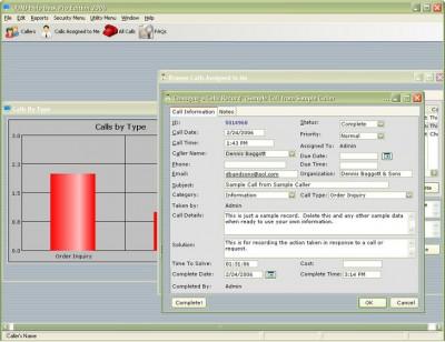 QUAD Help Desk Pro Edition 2006 2006 screenshot
