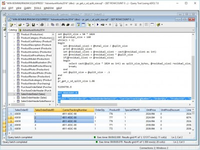 Query Tool (using ADO) 7.0 x64 Edition 7.0.4.51 screenshot