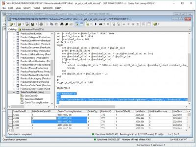 Query Tool (using ADO) 6.1.9.73 screenshot
