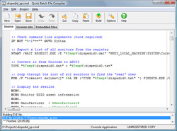 Quick Batch File Compiler 4.3.0.0 screenshot