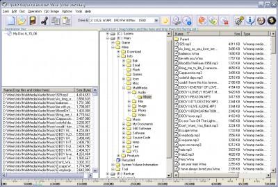 Quick CD/DVD Burner 2.8.2 screenshot