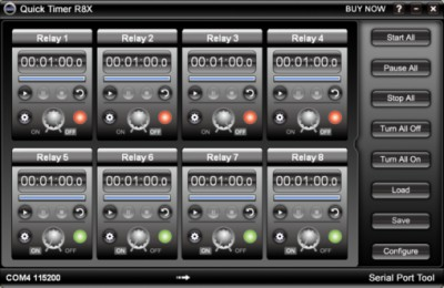 Quick Timer R8X 2.5.1 screenshot