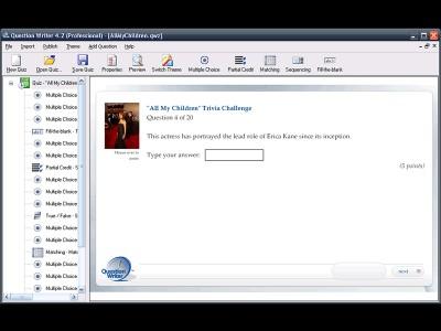 Quiz Maker by Question Writer 4.2 screenshot