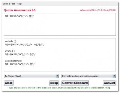 Quoter Amanuensis 5.5 screenshot