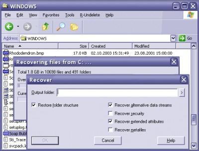 R-Undelete 5.1 Build 165337 screenshot