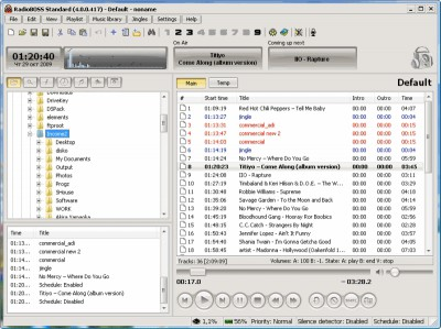 RadioBOSS Std 4.9.1 screenshot