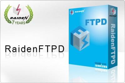 RaidenFTPD FTP Server 2.4.4005 screenshot