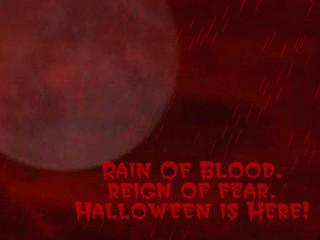 Rain Of Blood Halloween Wallpaper 2.0 screenshot