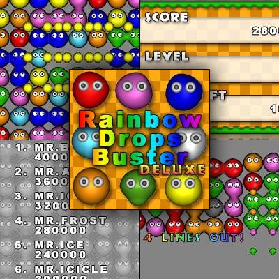 Rainbow Drops Buster Deluxe 1.10 screenshot